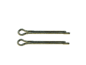 Extended Prong Cotter Pins Steel/Zinc