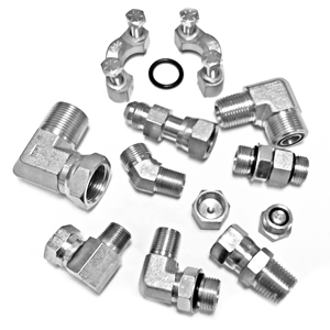 Hydraulic Fitting Steel Adapters