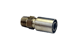 Corrision Resistant SS Crimp Hydraulic Fittings