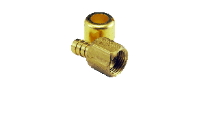 Medium Pressure Brass Crimp Fittings