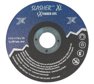 Slasher XL Cutoff Wheels
