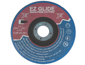 EZ Glide™ Taper-Cut™ Design Cutoff Wheels